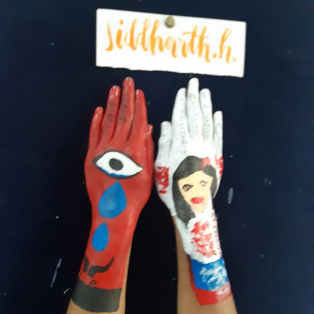 Hand Painting - Inter House Photo Gallery Bal Bhawan School