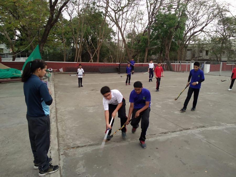 Hockey Competition (16th April) - Inter House Photo Gallery Bal Bhawan School